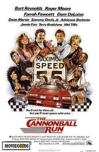Cannonball Run - 43 x 62 Movie Poster - Bus Shelter Style A