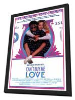 Can't Buy Me Love - 11 x 17 Movie Poster - Style A - in Deluxe Wood Frame
