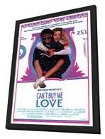 Can't Buy Me Love - 27 x 40 Movie Poster - Style A - in Deluxe Wood Frame