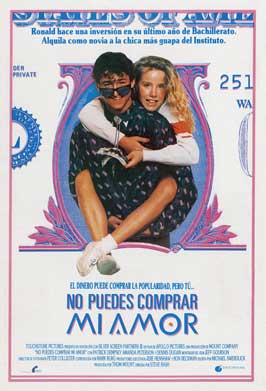 Can't Buy Me Love - 11 x 17 Movie Poster - Spanish Style A