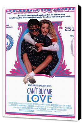 Can't Buy Me Love - 11 x 17 Movie Poster - Style A - Museum Wrapped Canvas