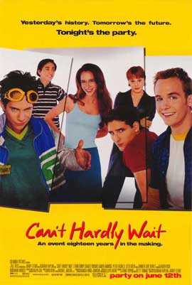 Can't Hardly Wait - 27 x 40 Movie Poster - Style B