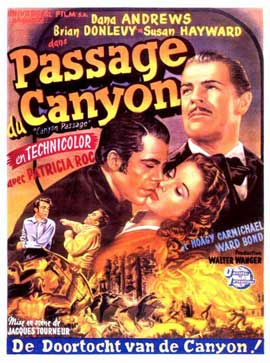 Canyon Passage - 11 x 17 Movie Poster - Belgian Style A