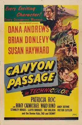 Canyon Passage - 11 x 17 Movie Poster - Style A