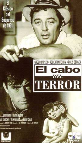 Cape Fear - 11 x 17 Movie Poster - Spanish Style F