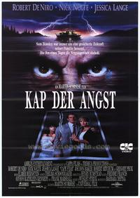 Cape Fear - 11 x 17 Movie Poster - German Style A