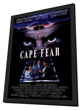 Cape Fear - 11 x 17 Movie Poster - Style A - in Deluxe Wood Frame