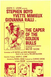 Caper of the Golden Bulls - 11 x 17 Movie Poster - Style A