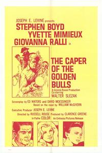 Caper of the Golden Bulls - 27 x 40 Movie Poster - Style A