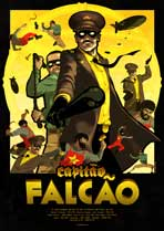 Capitao Falcao (TV) - 43 x 62 TV Poster - Polish Style A
