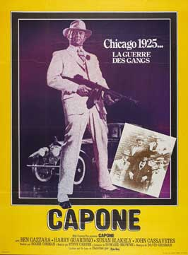 Capone - 27 x 40 Movie Poster - French Style A