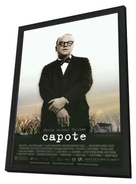 Capote - 11 x 17 Movie Poster - Style A - in Deluxe Wood Frame