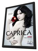 Caprica (TV) - 11 x 17 TV Poster - Style A - in Deluxe Wood Frame