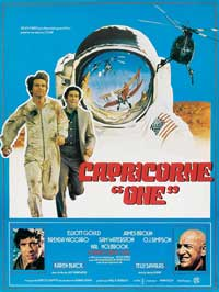 Capricorn One - 11 x 17 Movie Poster - French Style A