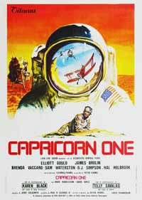Capricorn One - 27 x 40 Movie Poster - Italian Style A