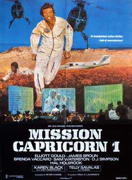 Capricorn One - 11 x 17 Movie Poster - Danish Style A