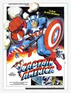 Captain America II: Death Too Soon - 11 x 17 Movie Poster - French Style A