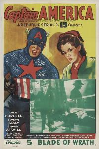 Captain America - 27 x 40 Movie Poster - Style C