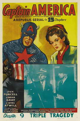 Captain America - 11 x 17 Movie Poster - Style E