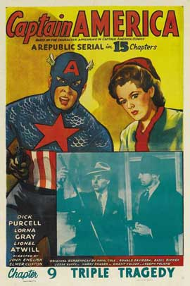 Captain America - 27 x 40 Movie Poster - Style D