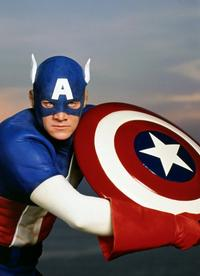 Captain America - 8 x 10 Color Photo #1