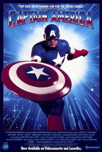 Captain America - 11 x 17 Movie Poster - Style B - Museum Wrapped Canvas