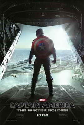 Captain America: The Winter Soldier - 27 x 40 Movie Poster - Style A