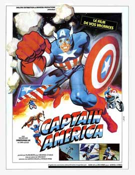Captain America (TV) - 11 x 17 Movie Poster - French Style A