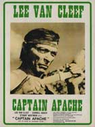 Captain Apache - 11 x 17 Movie Poster - French Style A