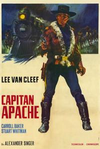 Captain Apache - 27 x 40 Movie Poster - Style A