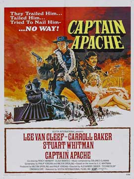 Captain Apache - 27 x 40 Movie Poster - Style B