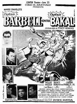 Captain Barbell kontra Captain Bakal - 11 x 17 Movie Poster - Spanish Style A