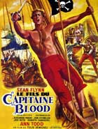 Captain Blood - 27 x 40 Movie Poster - French Style B