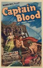 Captain Blood - 11 x 17 Movie Poster - Style K