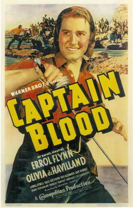 Captain Blood - 11 x 17 Movie Poster - Style A