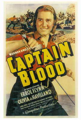 Captain Blood - 27 x 40 Movie Poster - Style A