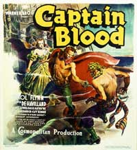 Captain Blood - 40 x 40 - Movie Poster - Style A