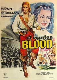 Captain Blood - 11 x 17 Movie Poster - Spanish Style A