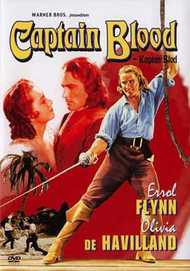 Captain Blood - 11 x 17 Movie Poster - Swedish Style A
