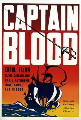 Captain Blood - 11 x 17 Movie Poster - Style G