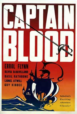 Captain Blood - 27 x 40 Movie Poster - Style B