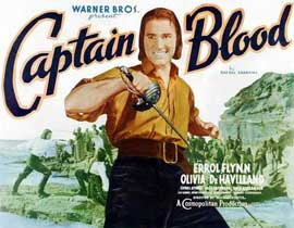 Captain Blood - 11 x 17 Movie Poster - Style J