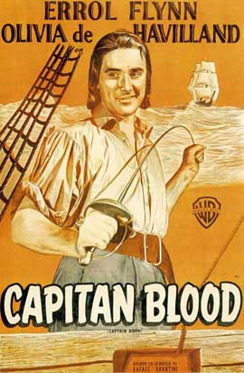 Captain Blood - 11 x 17 Movie Poster - Style H
