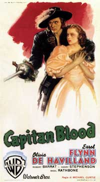 Captain Blood - 11 x 17 Movie Poster - Italian Style C