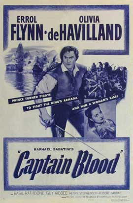 Captain Blood - 11 x 17 Movie Poster - Style I