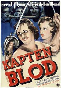 Captain Blood - 11 x 17 Movie Poster - Swedish Style C