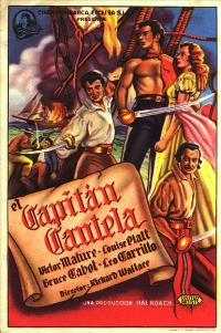 Captain Caution - 27 x 40 Movie Poster - Spanish Style A