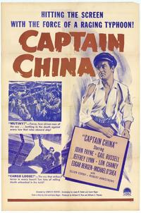 Captain China - 27 x 40 Movie Poster - Style A