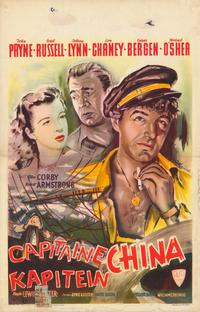 Captain China - 27 x 40 Movie Poster - Belgian Style A