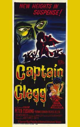 Captain Clegg - 11 x 17 Movie Poster - Style A